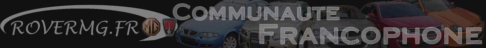 Forum Rover MG Communauté Francophone
